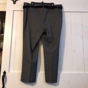LOFT Pants - New Condition Loft Slacks with Velvet Belt Size 16